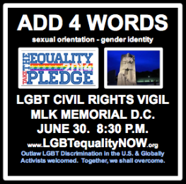New LGBT Equality Campaign Demands,
